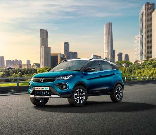 Electric car Tata Nexon EV