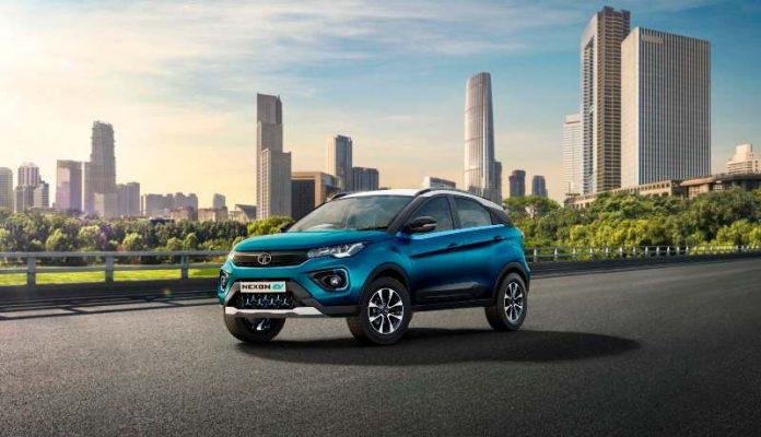 Electric car Tata Nexon EV