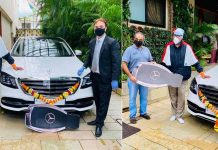 Amitabh Bachchan Mercedes S Class home delivery