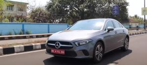 Mercedes Benz A-Class Limousine : Drive