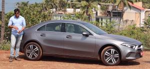 Mercedes Benz A-Class Limousine : Side View