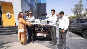 Renault kiger first delivery