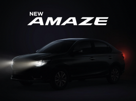 Facelift Honda Amaze 2021